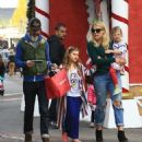 Busy Phillips goes holiday shopping with her family at The Grove in Los Angeles, California on December 10, 2016 - 454 x 502