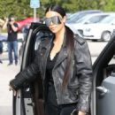 Kim Kardashian spotted out for lunch at Cafe Vega in Sherman Oaks, California on February 8, 2017 - 454 x 572