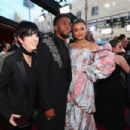 Diane Warren, Chadwick Boseman and Andra Day At The 90th Annual Academy Awards - Arrivals (2018)
