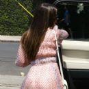 Lea Michele – Attends Friends Bridal Party in Venice