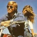 Robert Redford and Lauren Hutton