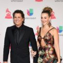Carlos Vives and Claudia Helena Vásquez - The 17th Annual Latin Grammy Awards - Arrivals - 454 x 597
