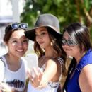 Actress Jamie Chung, wearing American Eagle Sky High Demin, attends American Eagle Outfitters Celebrates the Budweiser Made in America Music Festival during day 1 at Los Angeles Grand Park on August 30, 2014 in Los Angeles, California - 454 x 302