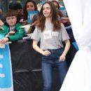 Lily Collins – WE Day 2018 London - 454 x 681