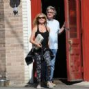 Goldie Hawn and Kurt Russell spotted at Lil Dom's in Silver Lake Saturday October 15, 2016 - 454 x 302