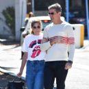 Selma Blair and boyfriend out in Studio City - 454 x 681