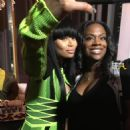 Blac Chyna at the Masquerade Launch for Conceal Virgin Hair in Atlanta Georgia - October 29, 2015 - 454 x 459