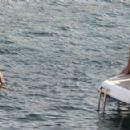 Ann-Kathrin Brommel – Hot in a bikini while on a yacht in Mallorca - 454 x 292