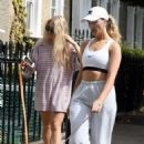 Perrie Edwards – Walking her dog in London - 454 x 679