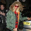 Rita Ora and Sean Combs are spotted leaving Nobu Berkeley restaurant in Mayfair, London. November 18, 2012 - 342 x 594