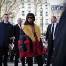 Rihanna Miu Miu Fashion Show In Paris