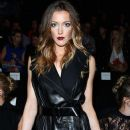 Actress Katie Cassidy attends the Kaufmanfranco fashion show during Mercedes-Benz Fashion Week Spring 2014 at The Theatre at Lincoln Center on September 9, 2013 in New York City