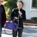 Lucy Liu Out In Los Angeles