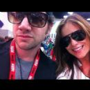 Jamie Kennedy and Girlfriend Nicolle Radzivil 2012
