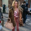 Nadine Coyle – Arriving at the AOL Building in London - 454 x 681