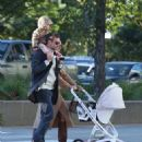 Brad&Irina with their daughter Lea in New York City