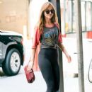 Dakota Johnson in Black Tights – Out in New York City