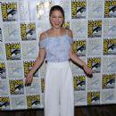 Melissa Benoist – 'Supergirl' Press Line at Comic-Con 2016 in San Diego - 454 x 599
