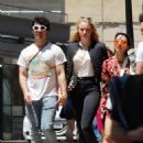 Sophie Turner and Joe Jonas – Out for some lunch in Barcelona - 454 x 601