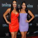 Nikki and Brie Bella – WWE Evolution in New York - 454 x 708