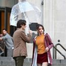 Selena Gomez – Woody Allen Set movie in NYC - 454 x 699