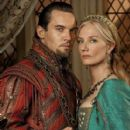 Jonathan Rhys Meyers and Joely Richardson