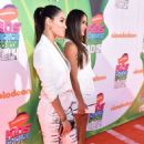 Brie Nikki Bella 2014 Nickelodeon Kids Choice Sports Awards In La