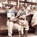 Warren Spahn With Johnny Sain
