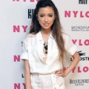 Christian Serratos - Arriving At The Nylon Magazine June/July 2010 Music Issue Launch Party At The Mondrian Hotel On June 22, 2010 In Los Angeles, California