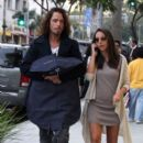 Chris Cornell and wife Vicky walks in Beverly Hills