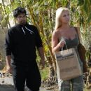 Brooke Hogan - Miami Beach Candids, 18.11.2008.