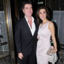 Mezhgan Hussainy and Simon Cowell - 396 x 594