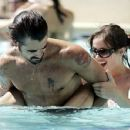 Colin Farrell and Muireann McDonnell in Las Vegas - Paparazzi