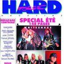 Mike Muir, Steve Vai, David Coverdale, Adrian Vandenberg, Bret Michaels, Rikki Rockett, Bobby Dall, C.C. Deville - Hard Force Magazine Cover [France] (June 1990)