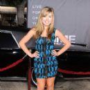 "Jennette McCurdy arrives at the Premiere of Regency Enterprises' ""In Time"" at the Regency Village Theater on October 20, 2011 in Westwood"
