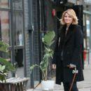 Mischa Barton – Walking her Dogs in Manhattan - 454 x 681