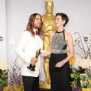 Jared Leto and Anne Hathaway At The 86th Annual Academy Awards (2014) - 370 x 594