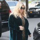 Jessica Simpson – Returns to The Greenwich Hotel in New York - 454 x 573