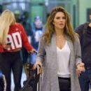 Maria Menounos – Arrives at Louis Armstrong International Airport in Louisiana