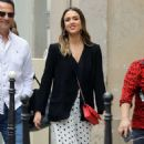 Jessica Alba – Shopping at Robert Clergery and Roger Gallet in Paris