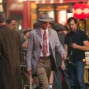 Ryan Gosling on the set of 'Gangster Squad' in Los Angeles (August 21)