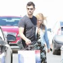 Billie Lourd and Taylor Lautner at Fred Segal in Hollywood