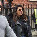 Priyanka Chopra and Marlee Matlin – On 'Quantico' Set in Dublin - 454 x 595