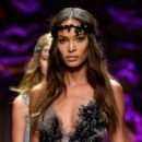 Joan Smalls Versace Fashion Show In Paris
