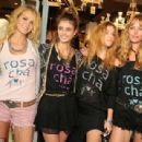 Rosa Cha Store Opening Brazil