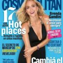 Brenda Gandini - Cosmopolitan Magazine Cover [Argentina] (February 2015)