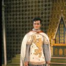 ROBERT GOULET AS LANCELOT IN THE 1960 BROADWAY MUSICAL '' CAMELOT''