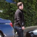 Former Canadian professional hockey player Mike Comrie is seen out having lunch with some friends in West Hollywood California on March 26, 2017 - 420 x 600