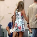 Jennifer Aniston – Shooting for her new movie 'Murder Mystery' in Italy