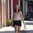 Cara Santana in Shorts – Shopping in West Hollywood - 454 x 681